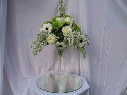 Aranjamente florale mese nunta
